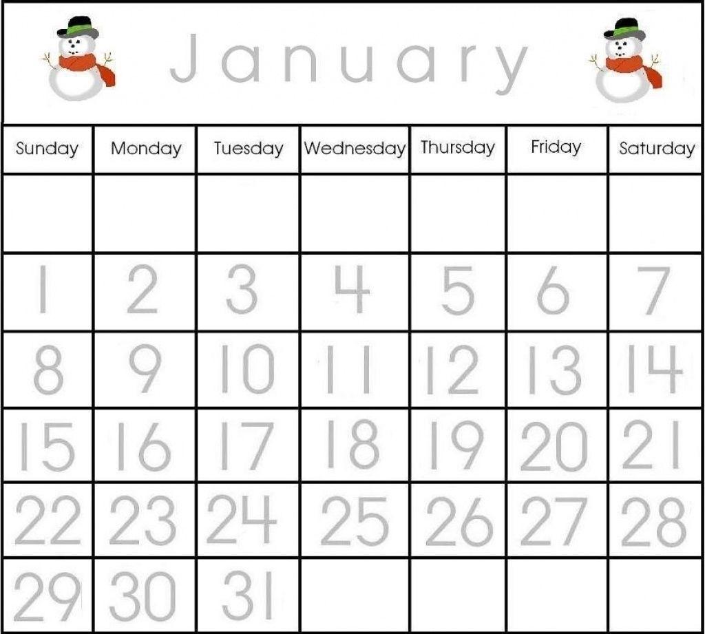 Effective Calendar Numbers 1 31 Printable   Get Your Calendar Printable