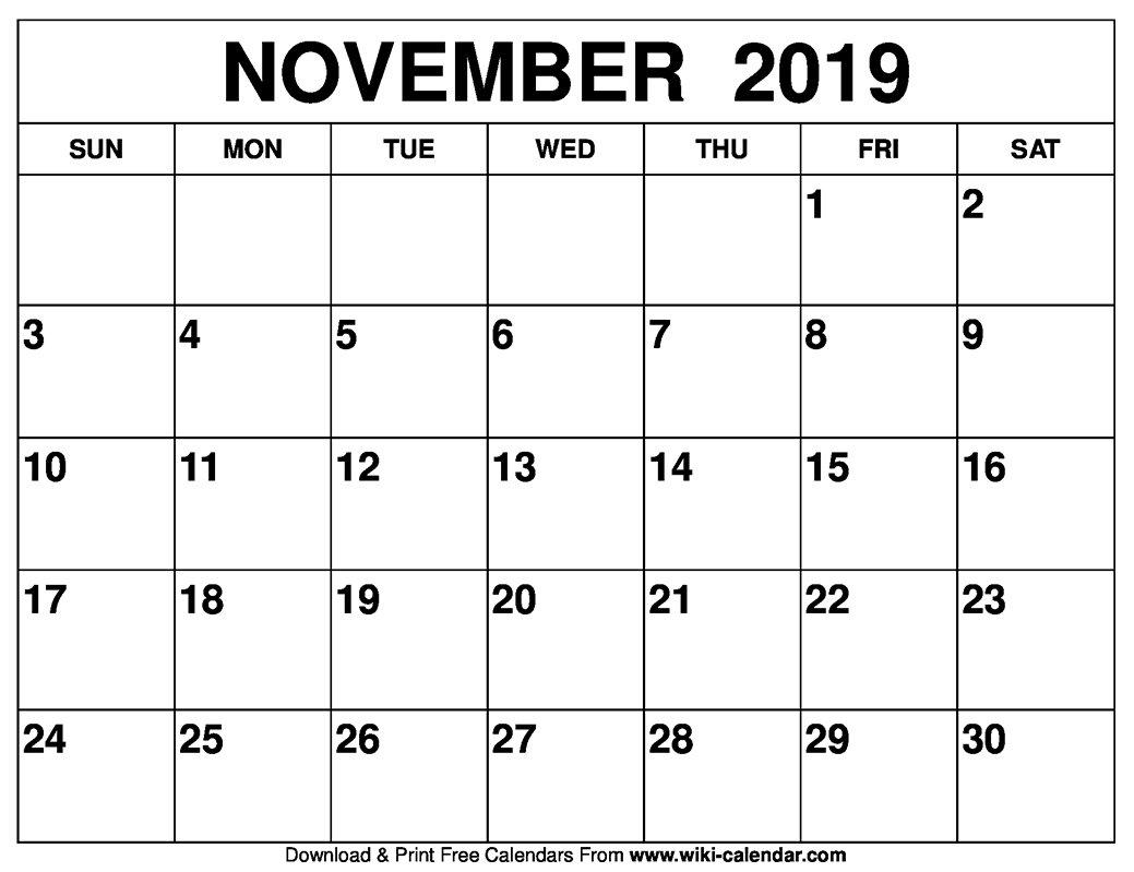 Empty Monday Through Sunday Schedule :-Free Calendar Template