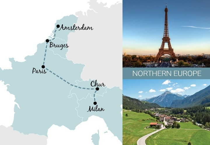 Europetrain: Five Great One-Week Rail Trip Routes - On The Luce Travel Blog