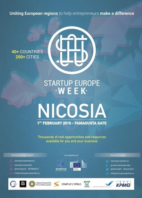 [Feb. 01] Event: Startup Europe Week - Nicosia