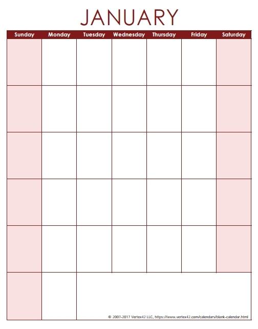 Free Calendars Monday Thru Sunday Image   Calendar Template 2020