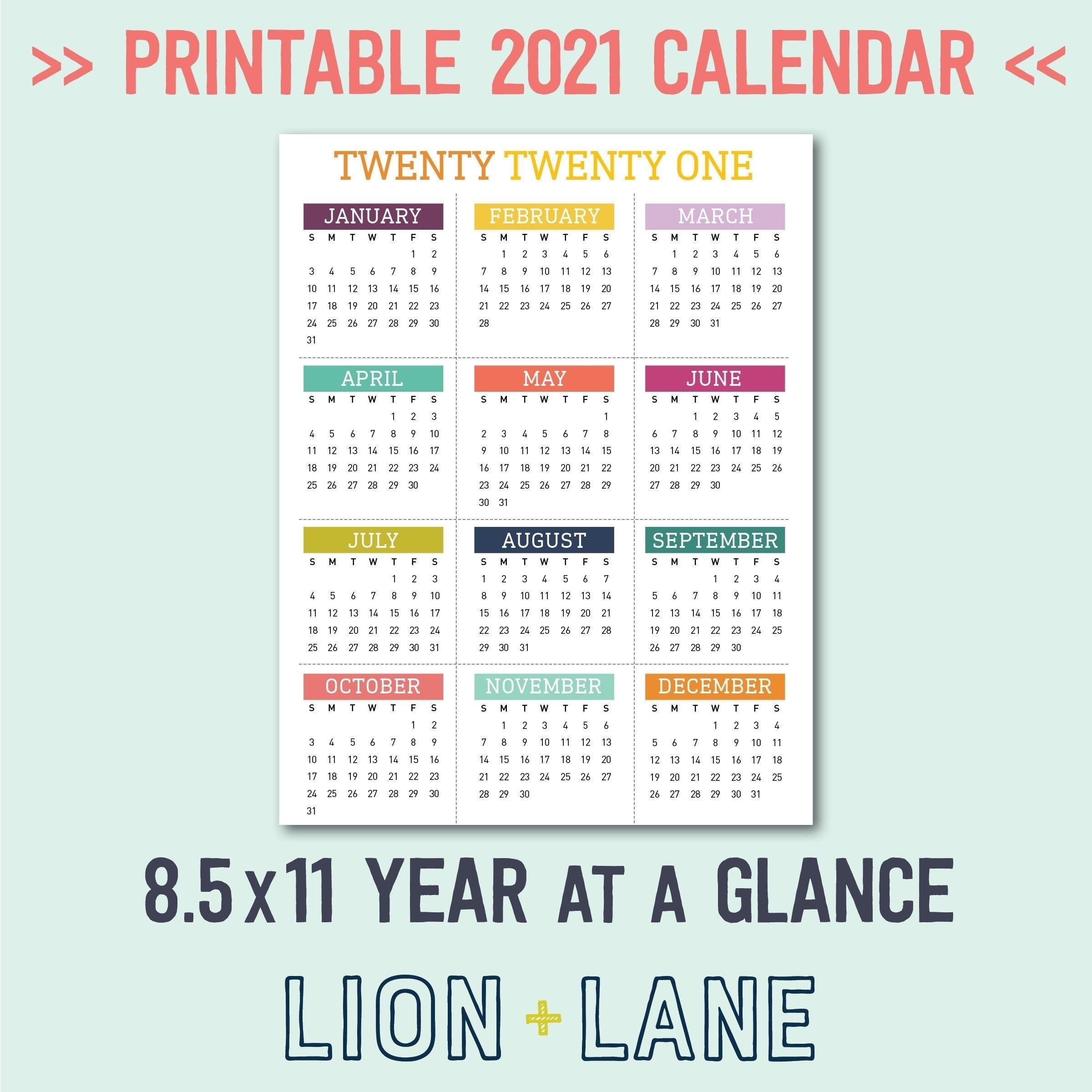 Free National Day Calendar 2021 - Calendar Inspiration Design