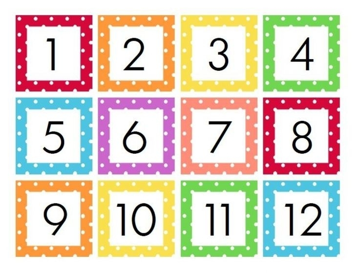 Free Printable Calendar Numbers 1 31 In 2021   Printable Calendar Numbers, Calendar Numbers