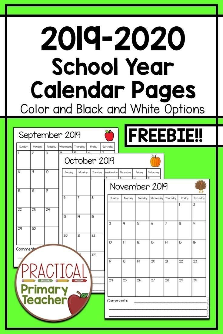 Free Printable Calendar Numbers For Teachers | Calendar Printables Free Templates