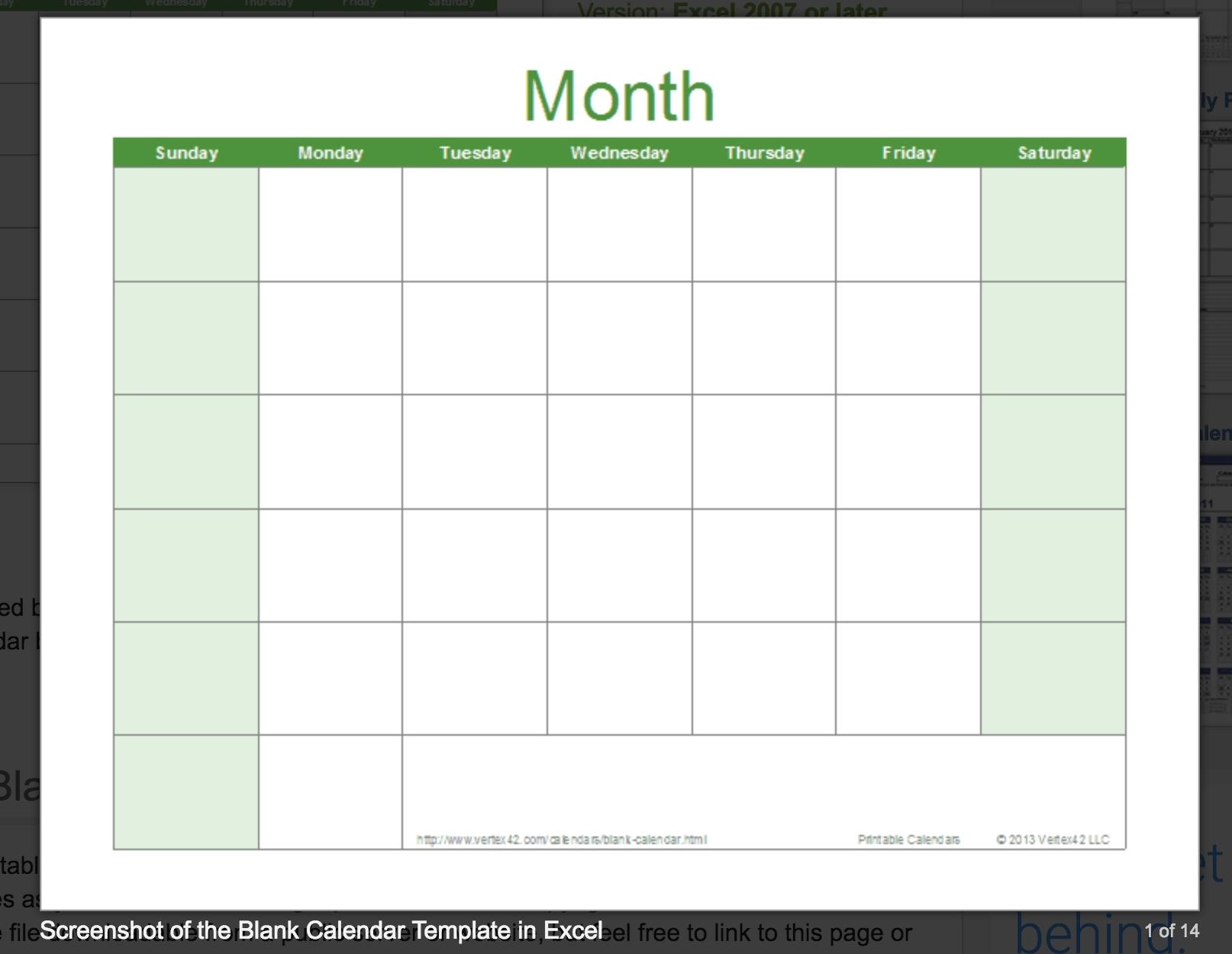 Free Printable Calendar You Can Type In | Month Calendar Printable