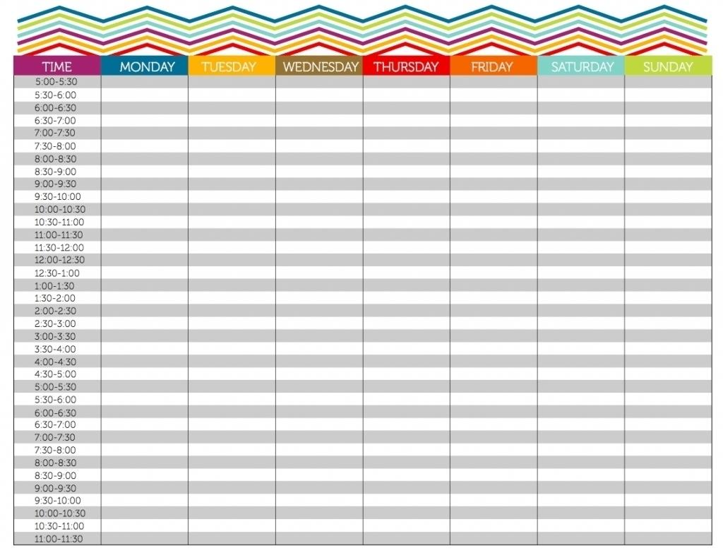 Free Printable Daily Calendar 15 Minute Increments | Ten Free Printable Calendar 2020-2021