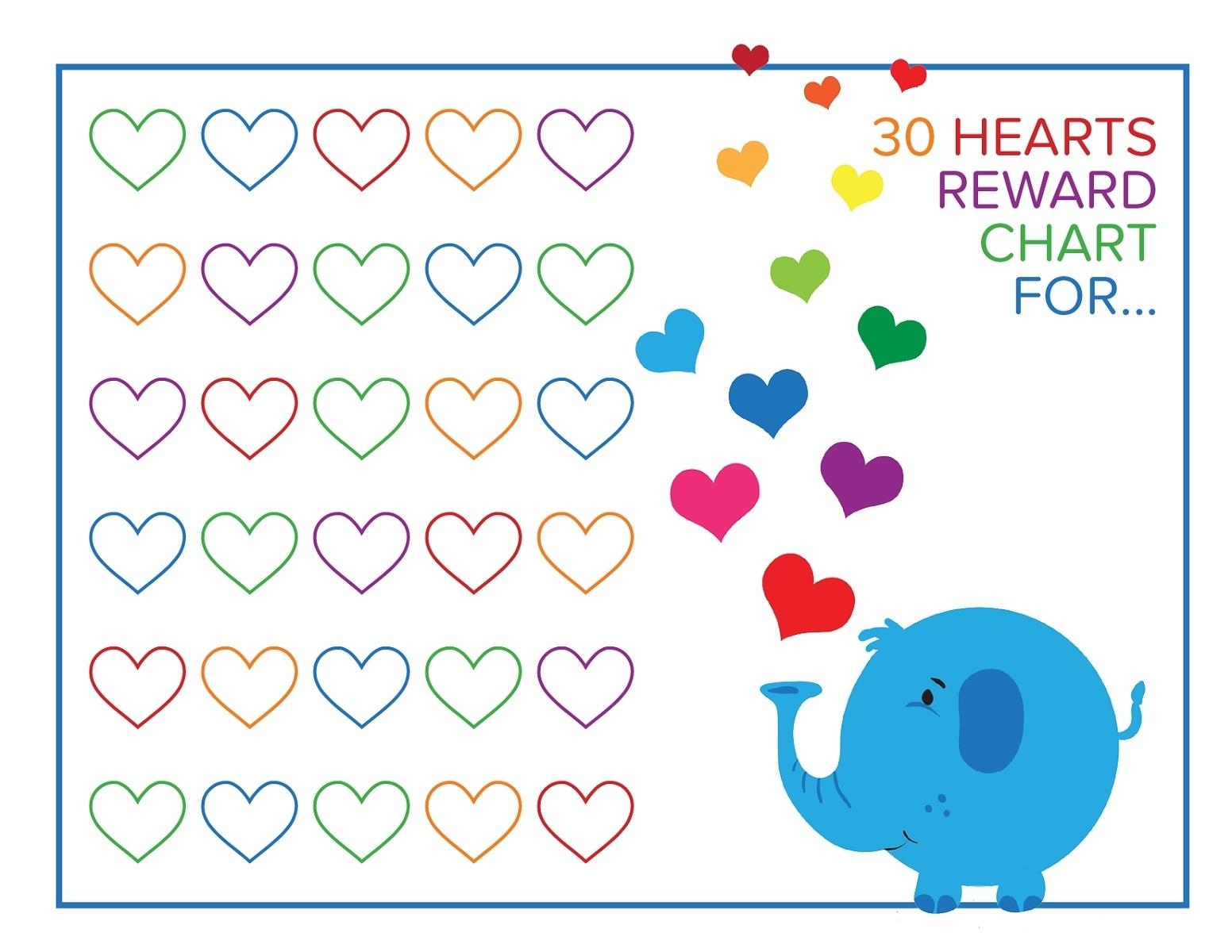 Fun Printable Reward Charts   101 Activity