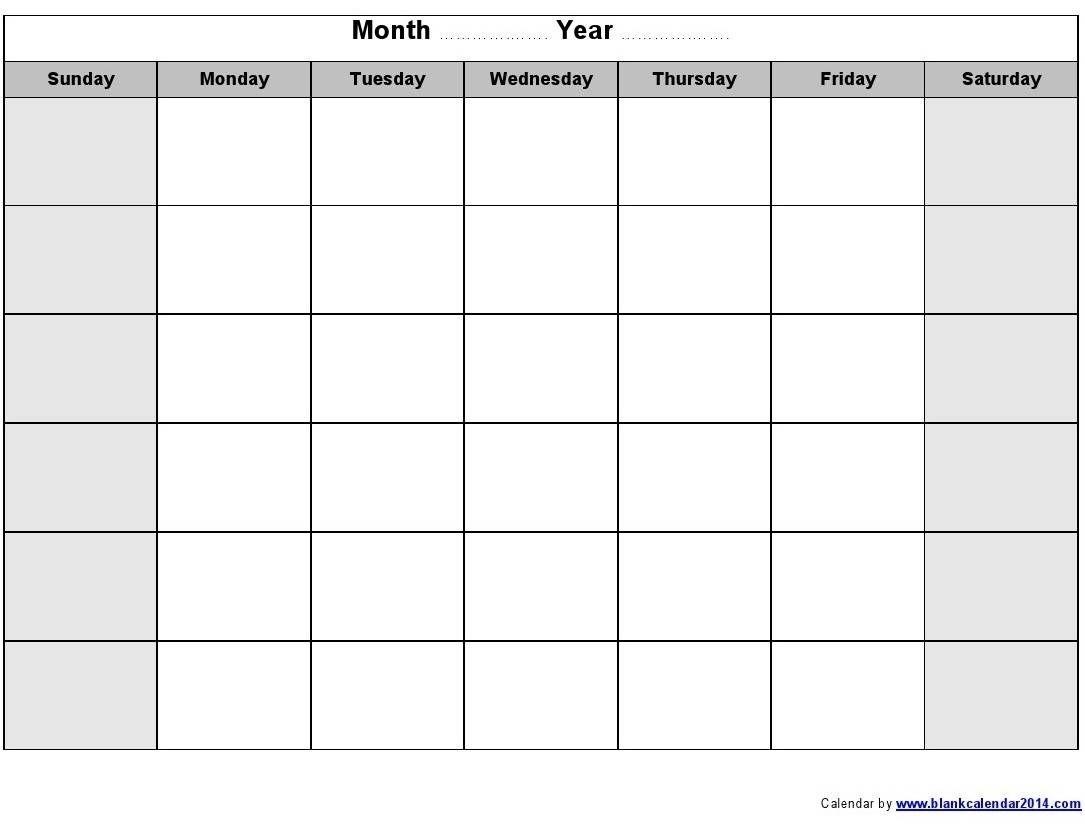 Http://Calendartemplateku/Monthly-Calendar-Free-Printable/   Blank Monthly Calendar
