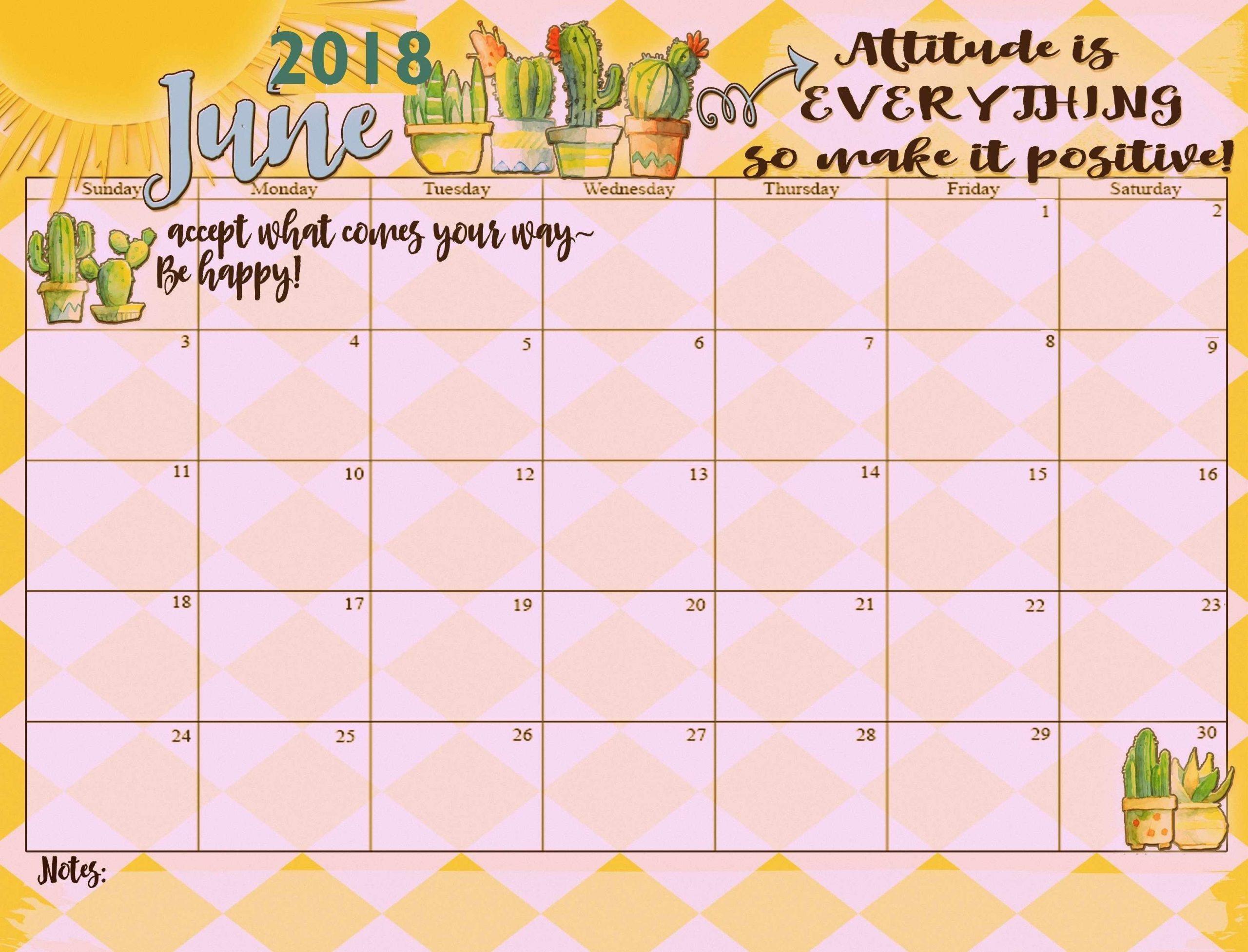 Inspiring June Month Calendar   Inspirational Quotes Motivation, Calendar, Motivational Quotes