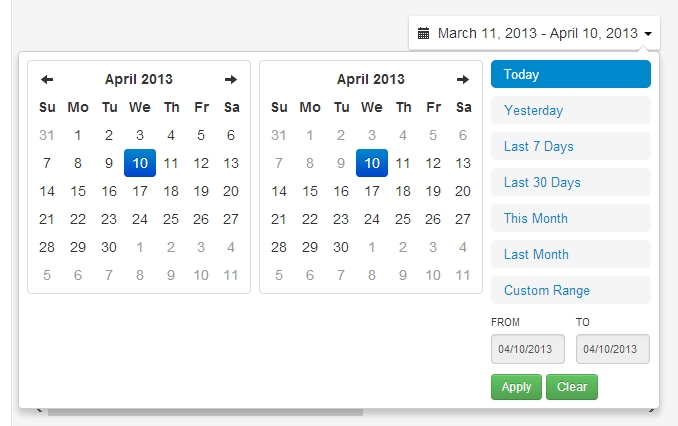 Javascript - Current, Previous And Next Month Calendar Show In Date Picker - Stack Overflow