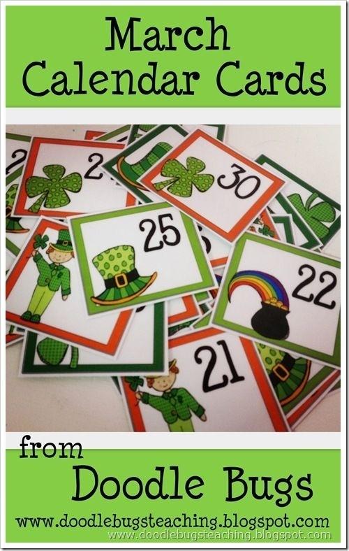 Marchcalendar | Preschool Calendar, Classroom Calendar, Free Calendar