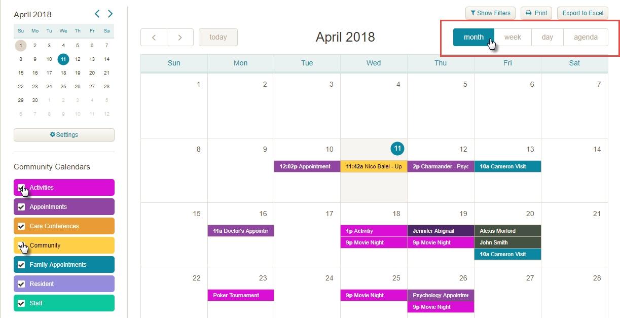Medtelligent | How To Edit A Community Calendar