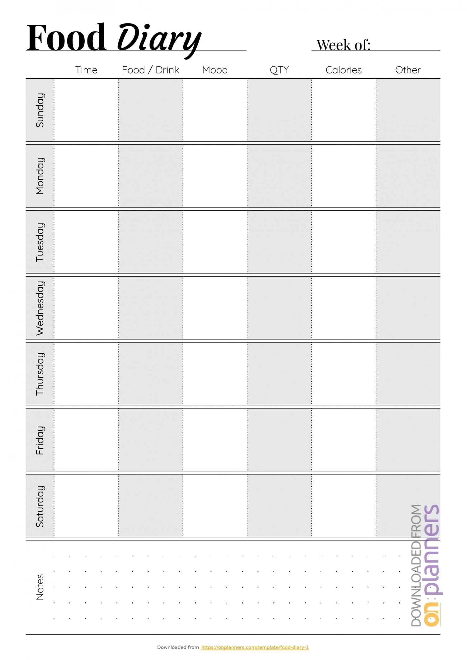 Monday Through Friday Calendar Pdf   Ten Free Printable Calendar 2020-2021