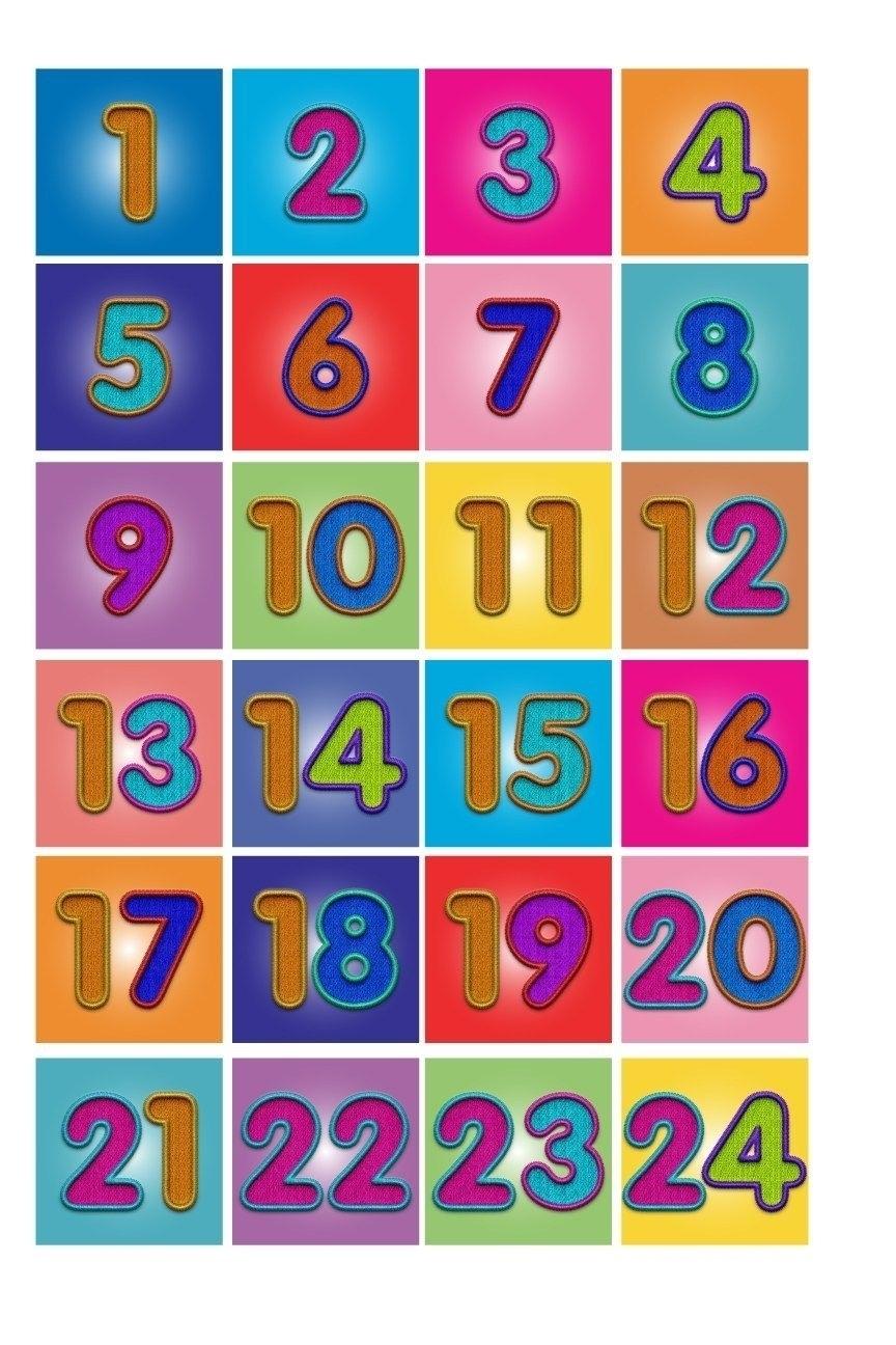 Numbers 1-31 For Calendar - Calendar Inspiration Design