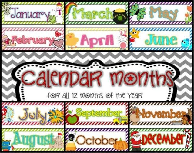 Pinguylaine Labbe On Preschool Calendar & Birthday Printables | Calendar Time Kindergarten