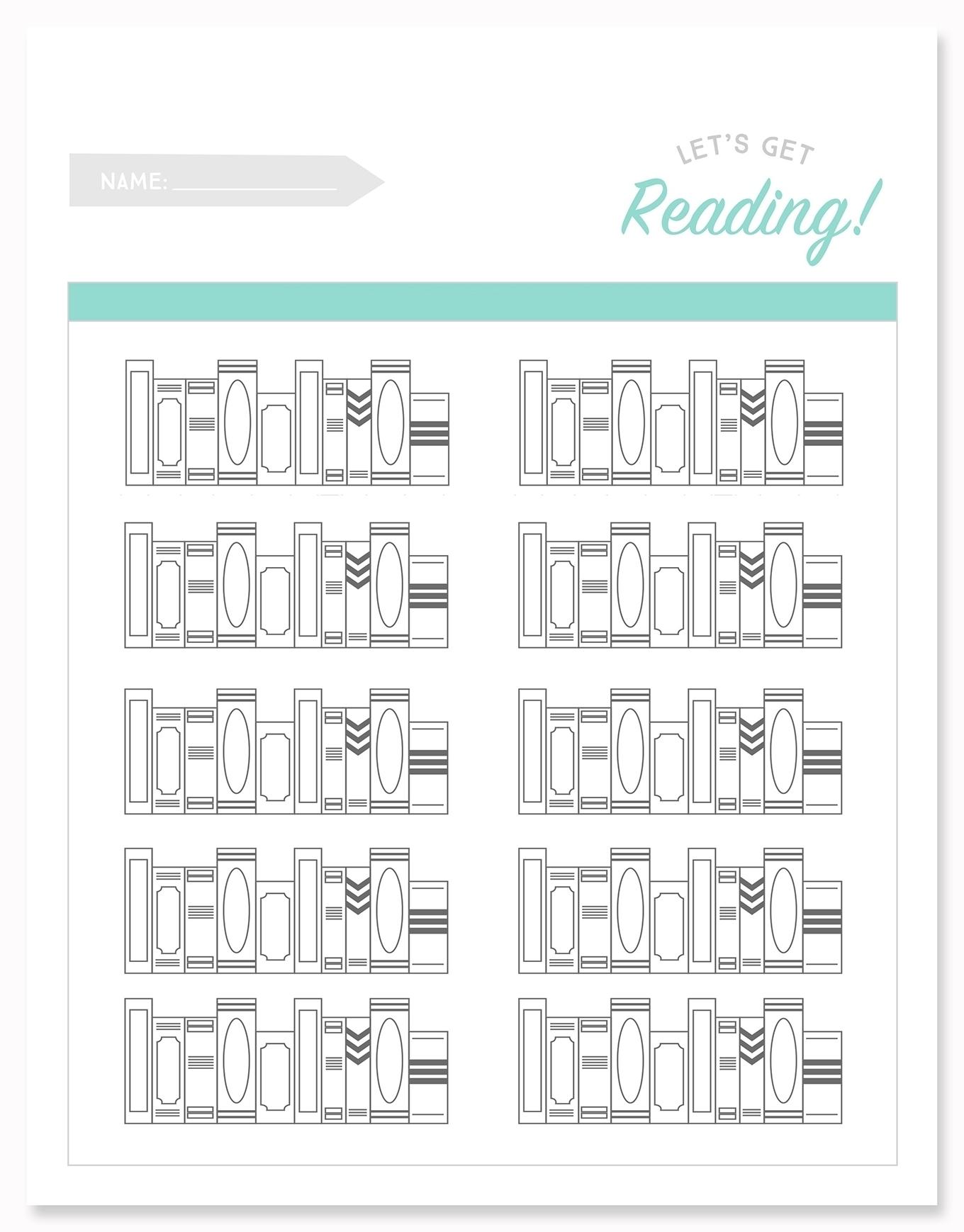 Printable Calendar Reading Logs | Month Calendar Printable