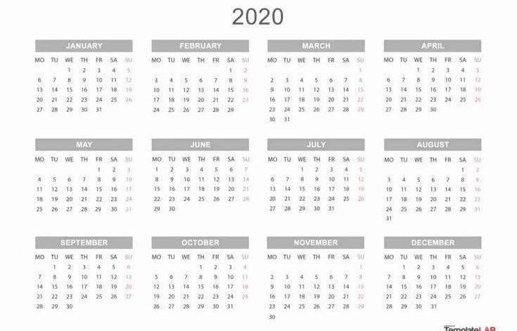 Printable Calendar You Can Edit In 2020   Calendar Printables, 12 Month Calendar, Calendar Template