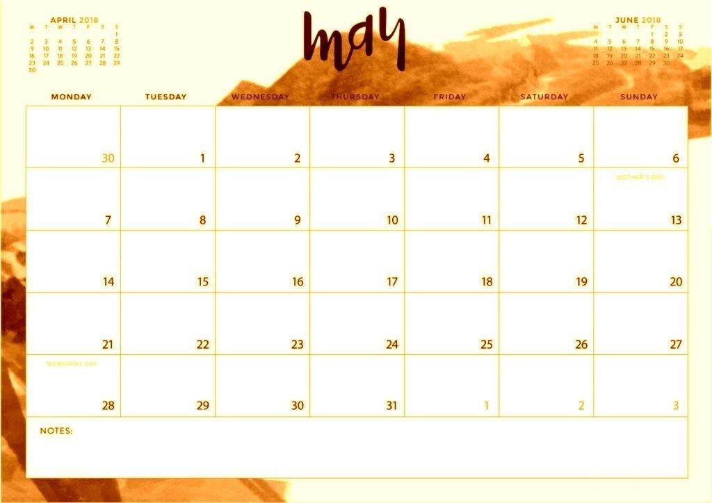 Printable May 2018 Waterproof Calendar   Calendar Printables, Printables, Calendar