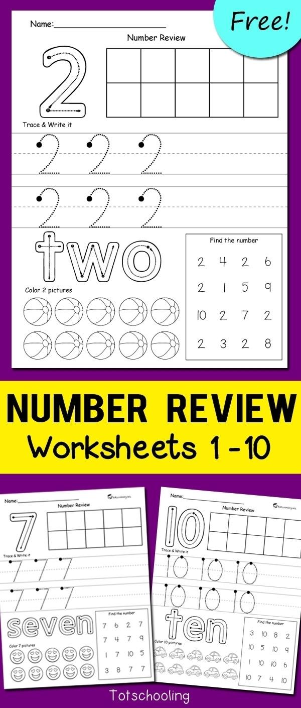 Printable Preschool Numbers 1 31   Free Calendar Template Example