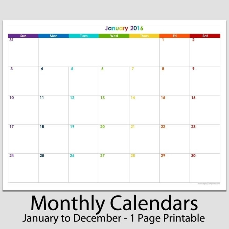 Remarkable Printable Calander 8.5 X 11 In 2020   Blank Calendar Template, Blank Calendar Pages