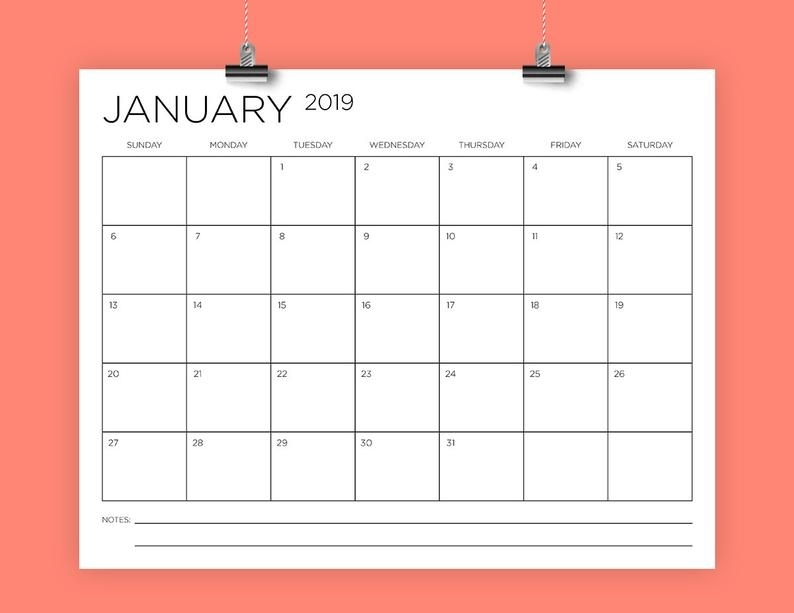 Type In Calendar Template   Hq Printable Documents