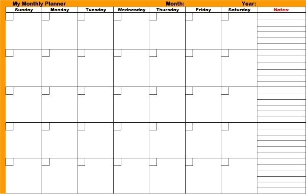 Utilize Monthly Planners And Don'T Miss Those Important Dates
