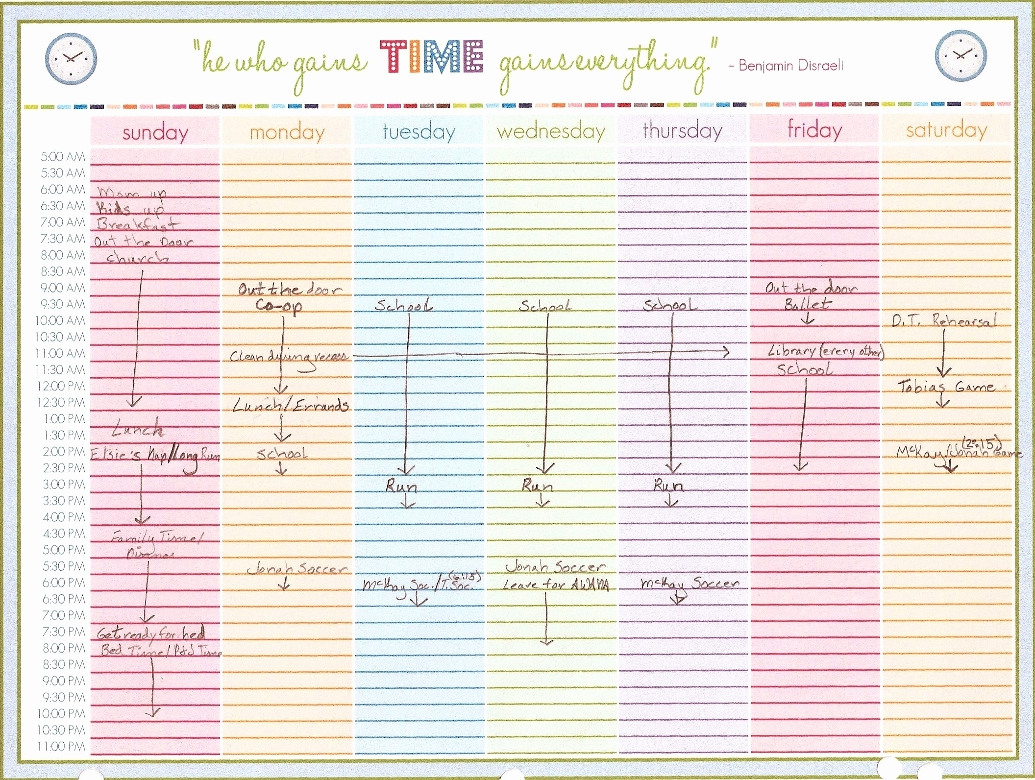 Week Calendar Hour Slots   Ten Free Printable Calendar 2020-2021