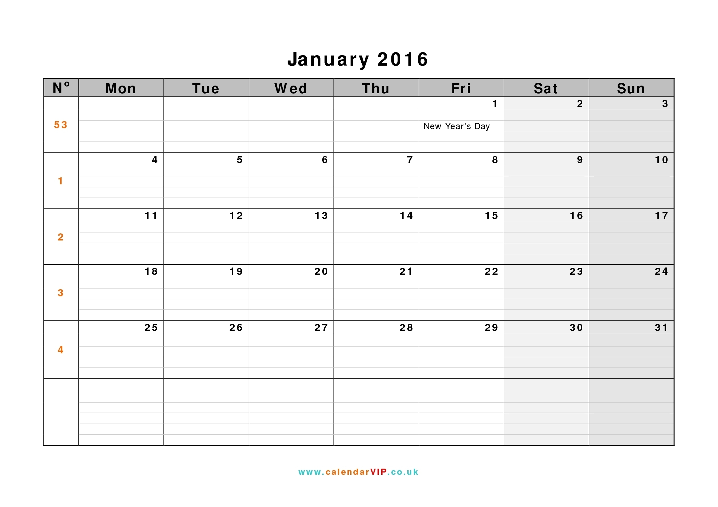 Week Calendar Monday To Sunday | Ten Free Printable Calendar 2020-2021