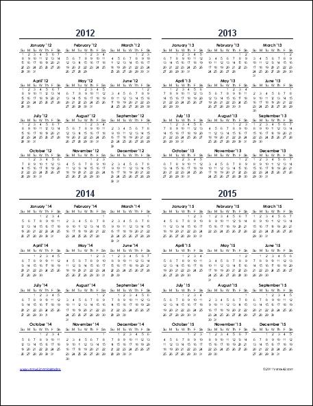 Yearly Calendar Templates   Yearly Calendar Template, Excel Calendar Template, Calendar Template